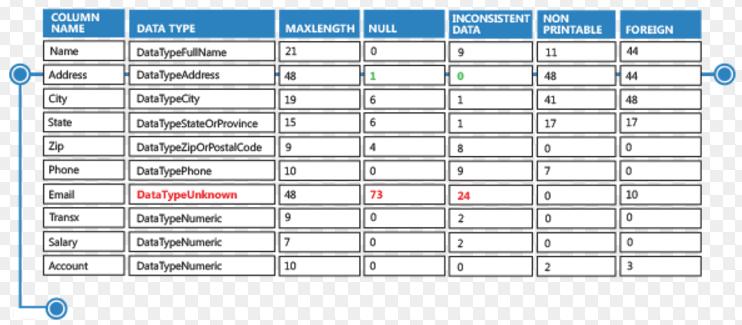 MelissaData Profiler - one of the best data profiling tools