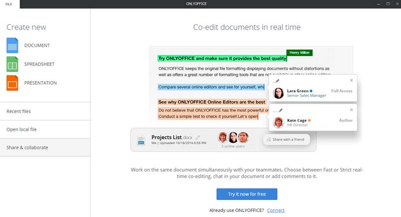 OnlyOffice Desktop Editor