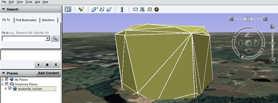 GRASS GIS 3D example