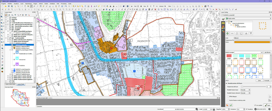 QGIS open source mapping software screenshot