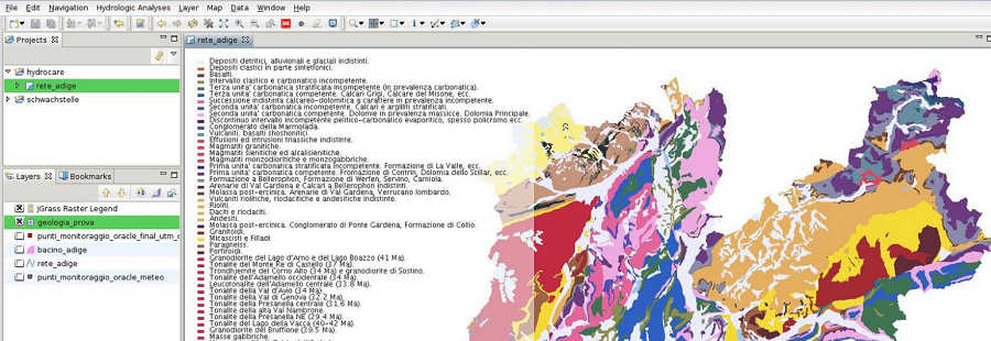 uDig open source mapping software screenshot