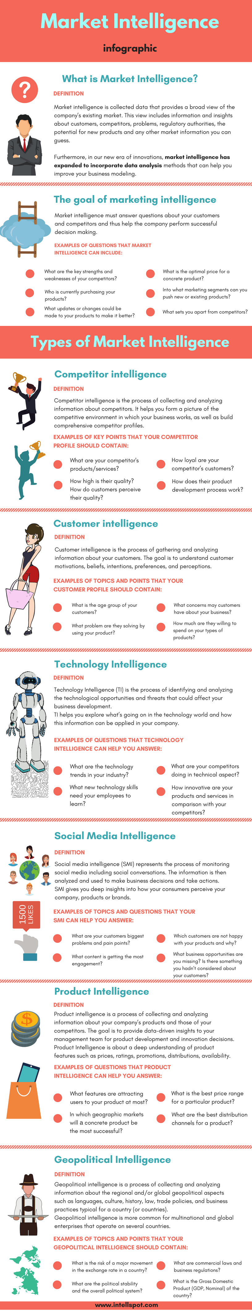 Market Intelligence - an Infographic