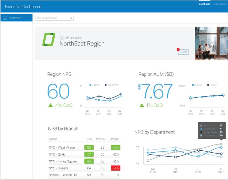 Qualtrics Customer Experience - screen shot