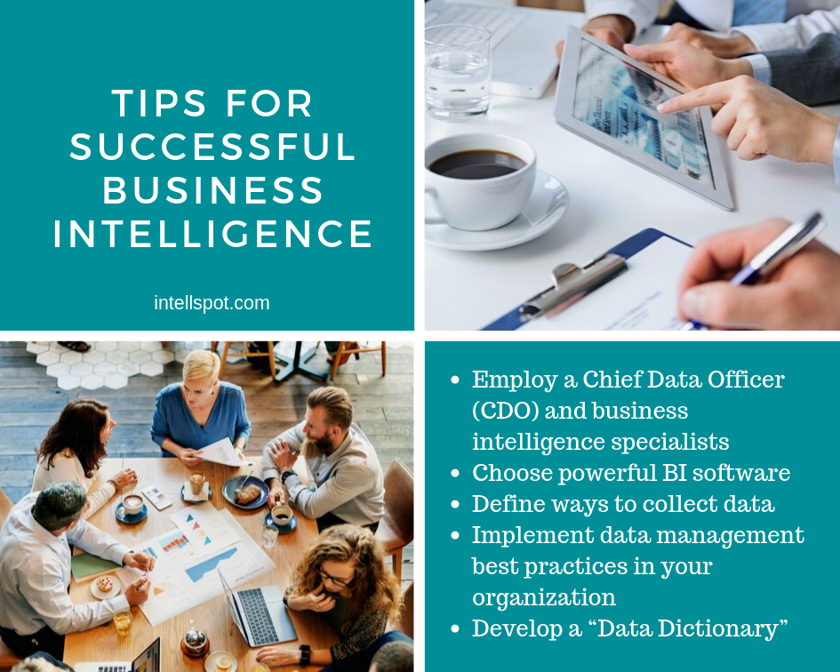 Tips For Successful Business Intelligence - an infographic